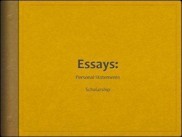 Essays for Admissions and Scholarship Applications - Victor Valley ...