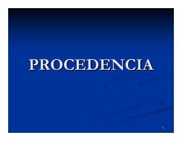 Procedencia - Tribunal Electoral del Poder Judicial de la Federación