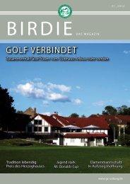 GOLF VERBINDET - Golf-Club Coburg e.v. Schloss Tambach