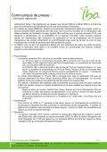 IBA Chemin du Cyclotron, 3 | 1348 Louvain-la-Neuve | Belgium | Tel - Page 5