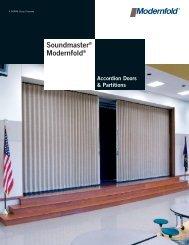 Soundmaster® Modernfold® - Modern Door & Equipment Sales, Inc.