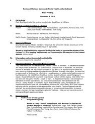 Board Meeting Minutes 11-04-10(pdf) - NEMCMH.org