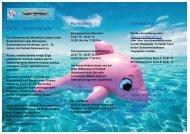 Flyer Ferienschimmkurs 2013 - Schwimmclub Winterthur