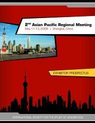 2 Asian Pacific Regional Meeting