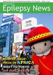 BUMPER ISSUE: - International Bureau for Epilepsy