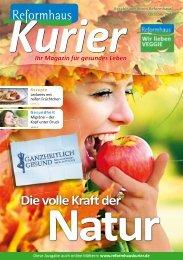 ReformhausKurier - FlippingPages.de