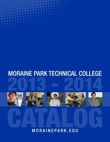 college catalog - Moraine Park Technical College