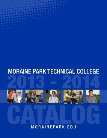 college catalog - Moraine Park Technical College