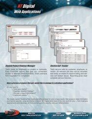NTD -Web Applications BrochureV2Revised.indd - NT Digital