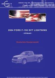 2004 FORD F-150 SVT LIGHTNING - Heimann & Thiel GbR