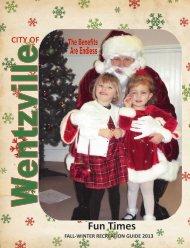 Program Guide-Fun Times - The City of Wentzville | Missouri