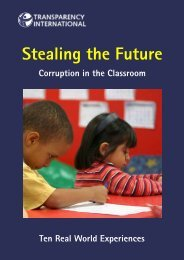 Stealing the Future - Global Learning Portal