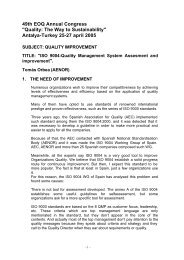 ISO 9004:Quality Management System Assesment and ... - EOQ