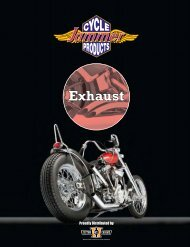 Exhaust - Custom Chrome