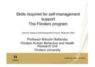 Skills Required for self management Support