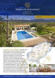 Finca Mirabella Estate - World of Indulgence