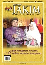 TAHUN 21 BILANGAN 131 MEI - Jabatan Kemajuan Islam Malaysia