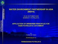 WATER ENVIRONMENT PARTNERSHIP IN ASIA (WEPA)