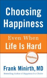 Choosing Happiness - Baker Publishing Group