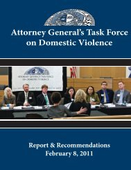 Attorney General's Task Force on Domestic Violence - Missouri ...