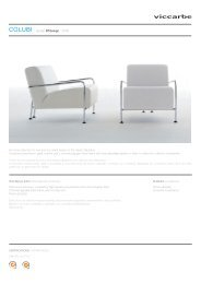 Armchair collection for one and two seats based on the classic ...