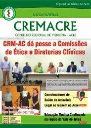 jornal cremacre - Conselho Federal de Medicina