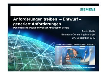 Vortragsfolien herunterladen - Berliner Requirements Engineering ...