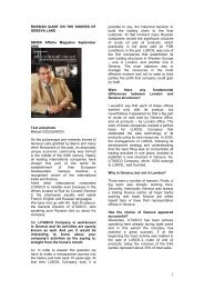 Article September 2008 translated in English