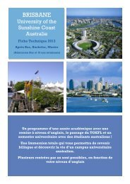Australie Région de Brisbane - ISPA