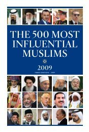 THE 500 MOST INFLUENTIAL MUSLIMS - Co.Re.Is