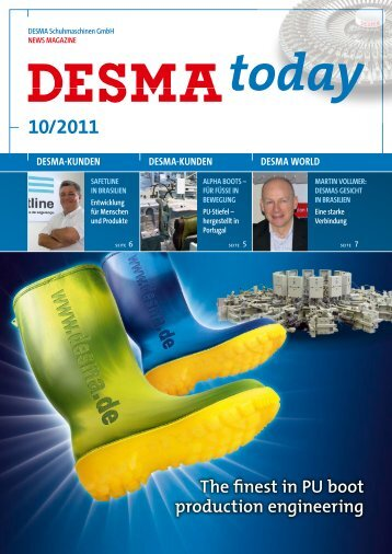 deutsches PDF herunterladen (2,1MB) - Desma