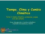 Tiempo, Clima y Cambio Climático