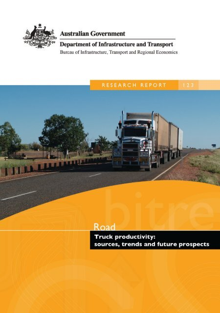 PDF: 2693 KB - Bureau of Infrastructure, Transport and Regional ...