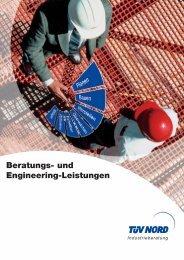 Beratungs- und Engineering-Leistungen - TÜV NORD