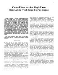 Control Structure for Single Phase Stand-Alone Wind Based Energy ...