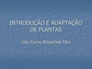 Introdução e Adaptação de Plantas