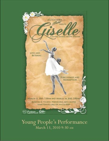Young People's Performance - Alexandra Ballet
