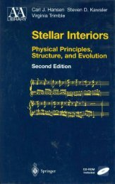 Stellar Interiors - Physical Principles, Structure, and Evolution