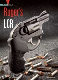 FEATURE RUGER LCR - American Rifleman