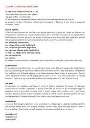 LO SPORT NELL'ANTICA ROMA LA FINE DELLA ... - life and fitness