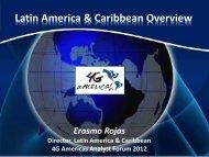 Latin America & Caribbean Overview - 4G Americas