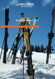 Geschäftsbericht 2010 (pdf, 5412 kB) - WGZ Bank