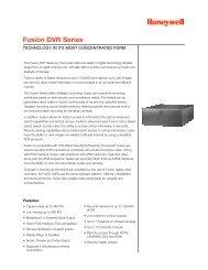 Fusion DVR Series - Cctv
