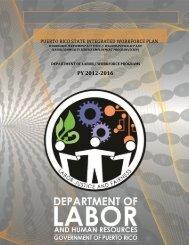 Puerto Rico State Integrated Workforce Plan - Departamento del ...