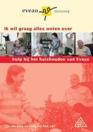 Evean-Icare brochure huishouden - Gemeenten