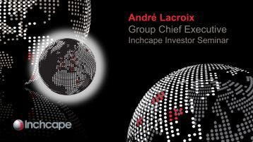 André Lacroix Group Chief Executive - Inchcape