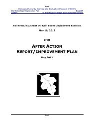 after action report/improvement plan - Massachusetts Geographic ...