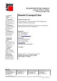 GranoporColor - TNyLok - Baumit