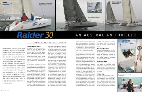52-55 -RAIDER 30 US - Multihulls World
