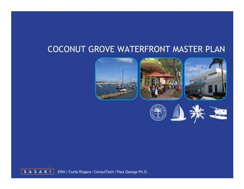 COCONUT GROVE WATERFRONT MASTER PLAN
